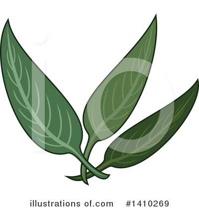 Royalty-Free (RF) Herbs Clipart Illustration by Vector Tradition SM - Stock Sample #1410269