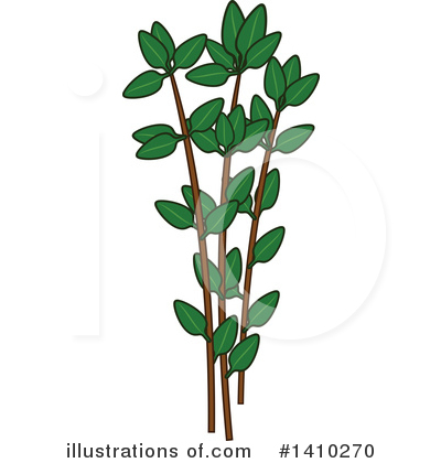 Herb Clipart #1410270 by Vector Tradition SM