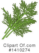 Herbs Clipart #1410274 by Vector Tradition SM