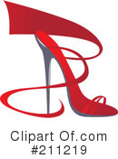 High Heel Clipart #211219 by Eugene