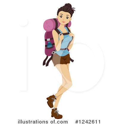 Teen Girl Clipart #1242611 by BNP Design Studio