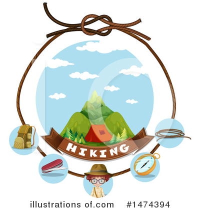 Camping Clipart #1474394 by Graphics RF