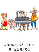 Hillbilly Clipart #1224169 by LaffToon