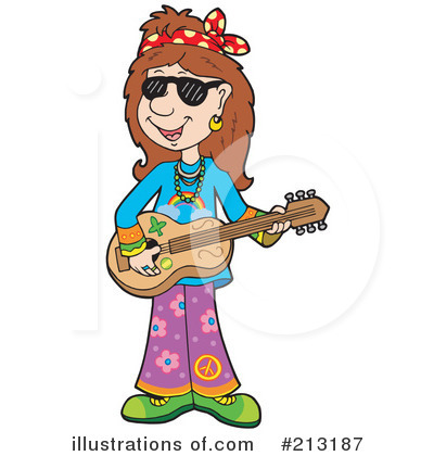 hippie clipart 213187 illustration by visekart rh illustrationsof com hippie birthday clipart hippie clipart black and white