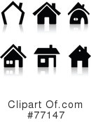 Homes Clipart #77147 by Jiri Moucka