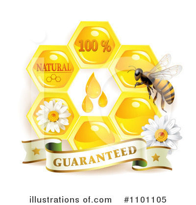 Honey Bee Clipart #1101105 by merlinul