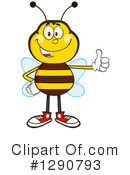 Honey Bee Clipart #1290793 by Hit Toon