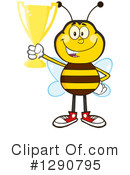 Honey Bee Clipart #1290795 by Hit Toon