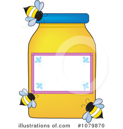 Bee Clipart #1079870 by Maria Bell