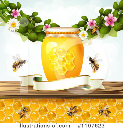 Bees Clipart #1107623 by merlinul