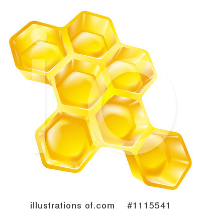 Bee Clipart #1115541 by AtStockIllustration