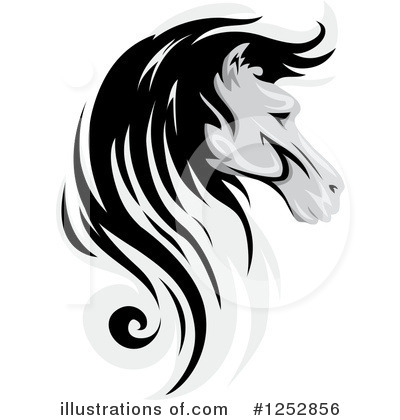 Royalty-Free (RF) Horse Clipart Illustration by BNP Design Studio - Stock Sample #1252856