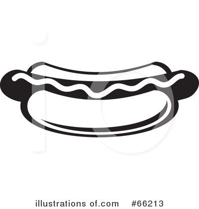 Hot Dog Clipart #66213 - Illustration by Prawny