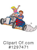 Hot Rod Clipart #1297471 by LaffToon