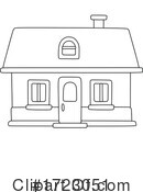House Clipart #1723051 by Alex Bannykh