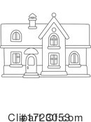 House Clipart #1723053 by Alex Bannykh