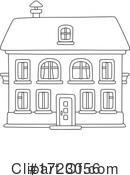 House Clipart #1723056 by Alex Bannykh