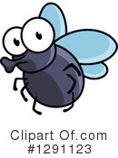 House Fly Clipart #1120121 - Illustration by Vector Tradition SM