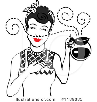 Coffee Clipart #1189085 by Andy Nortnik