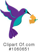 Hummingbird Clipart #1060651 by Pams Clipart