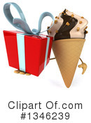Ice Cream Character Clipart #1346239 by Julos