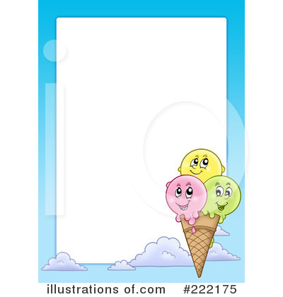 Ice Cream Clipart #222175 - Illustration by visekart