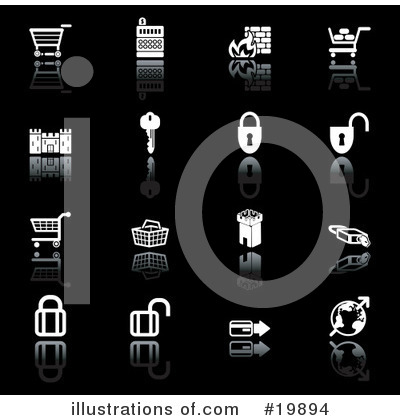 Icons Clipart #19894 by AtStockIllustration