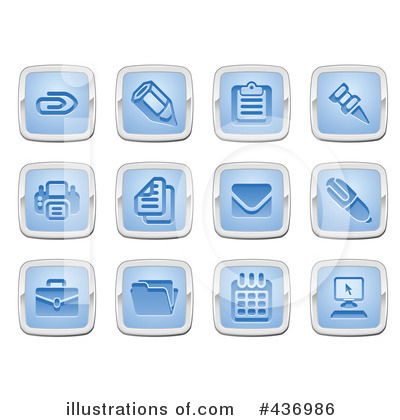 Icons Clipart #436986 by AtStockIllustration