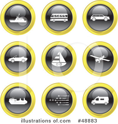 Royalty-Free (RF) Icons Clipart Illustration by Prawny - Stock Sample #48883