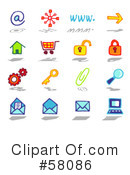 Icons Clipart #58086 by NL shop