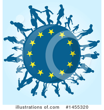 Refugee Clipart #1455320 by Domenico Condello