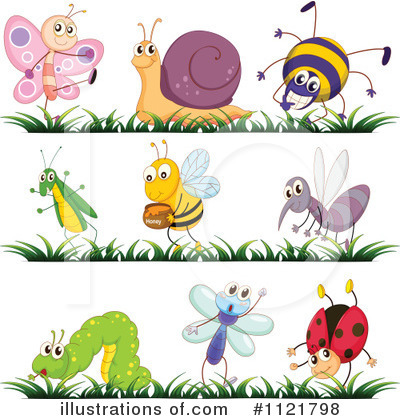 Bee Clipart #1121798 by Graphics RF
