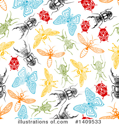 Ladybug Clipart #1409533 by Vector Tradition SM
