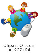 Internet Clipart #1232124 by Graphics RF