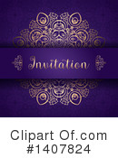 Invitation Clipart #1407824 by KJ Pargeter