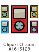 Ipod Clipart #1615128 by Lal Perera