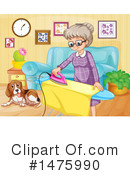 Ironing Clipart #1475990 by Graphics RF