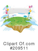 Island Clipart #209511 by BNP Design Studio