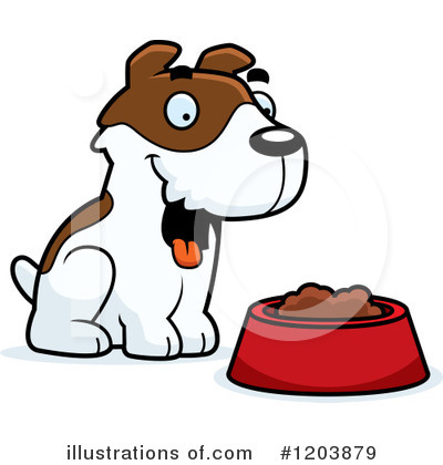 Dog Clipart #1203879 by Cory Thoman