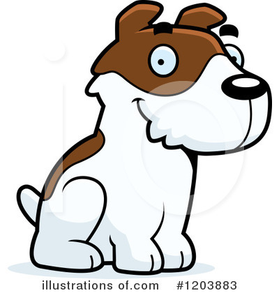 Dog Clipart #1203883 by Cory Thoman
