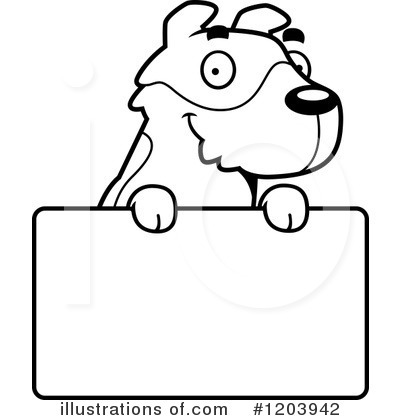 Jack Russell Terrier Clipart #1203942 by Cory Thoman