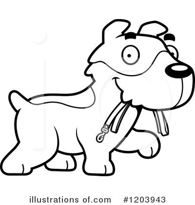 Jack Russell Terrier Clipart #1203943 by Cory Thoman