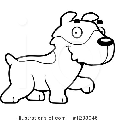 Jack Russell Terrier Clipart #1203946 by Cory Thoman