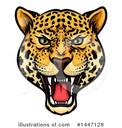 Panther Clipart #1447128 by Vector Tradition SM