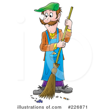 janitor clipart 226871 illustration by alex bannykh rh illustrationsof com janitorial clipart free Custodian Clip Art