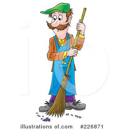 janitor clipart 226871 illustration by alex bannykh rh illustrationsof com