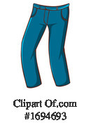 Jeans Clipart #1694693 by Graphics RF
