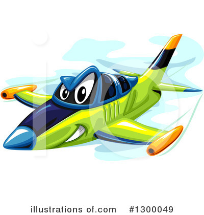Airplane Clipart #1300049 by BNP Design Studio