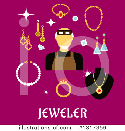 Jewelry Clipart #1317356 by Vector Tradition SM