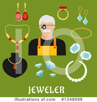 Jewelry Clipart #1348098 by Vector Tradition SM